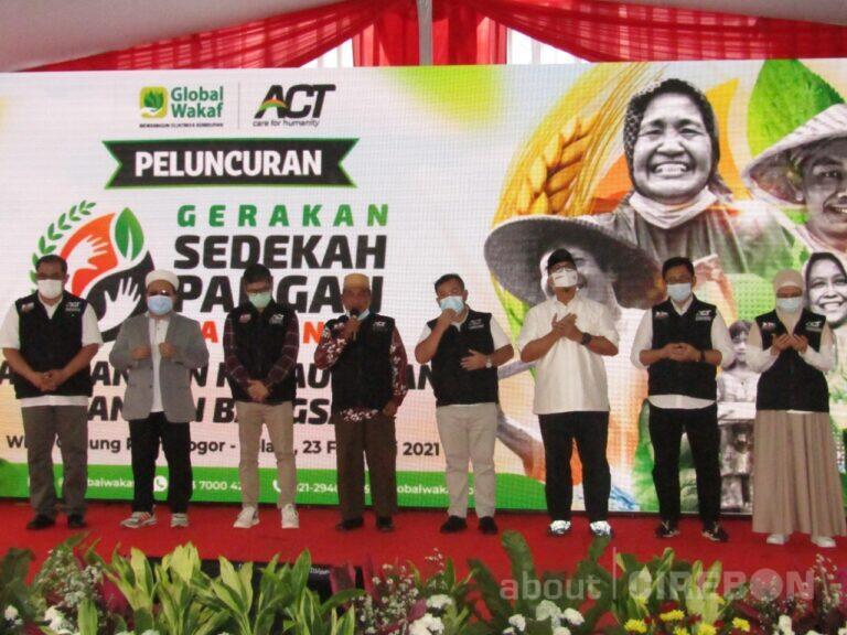 Gerakan Sedekah Pangan Nasional untuk Kedaulatan Pangan Bangsa