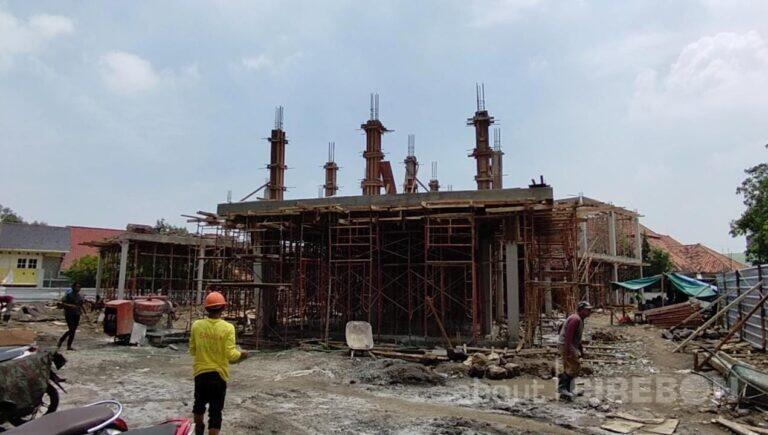 Gedung Baru PMI Kota Cirebon Ditargetkan Selesai Lima Bulan Lagi