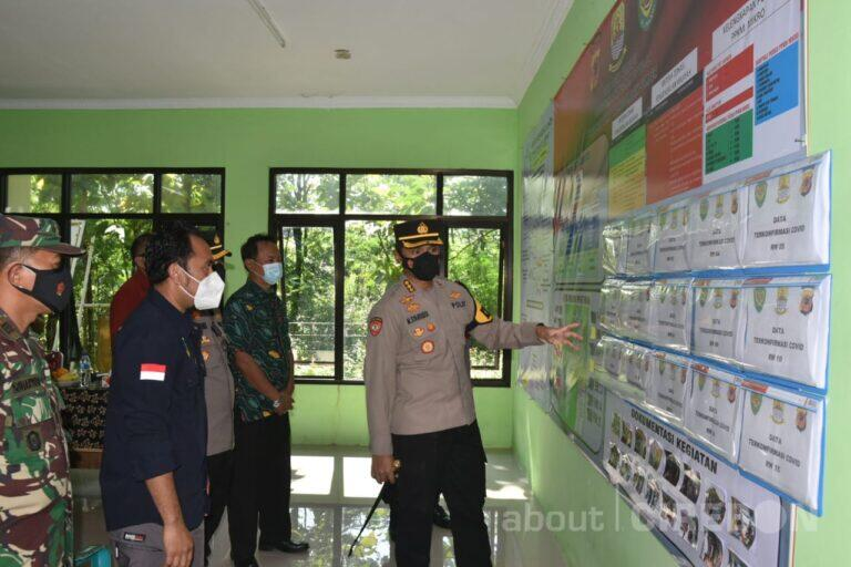Kapolresta Cirebon Minta Satgas Covid-19 Tingkat Desa dan Kelurahan Perkuat 3T