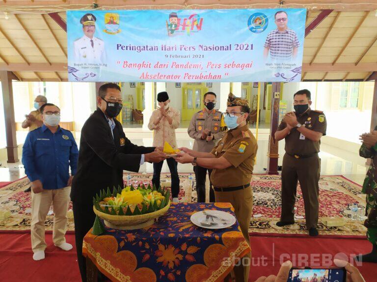 Pemkab dan Pemkot Cirebon Rayakan HPN Tahun 2021