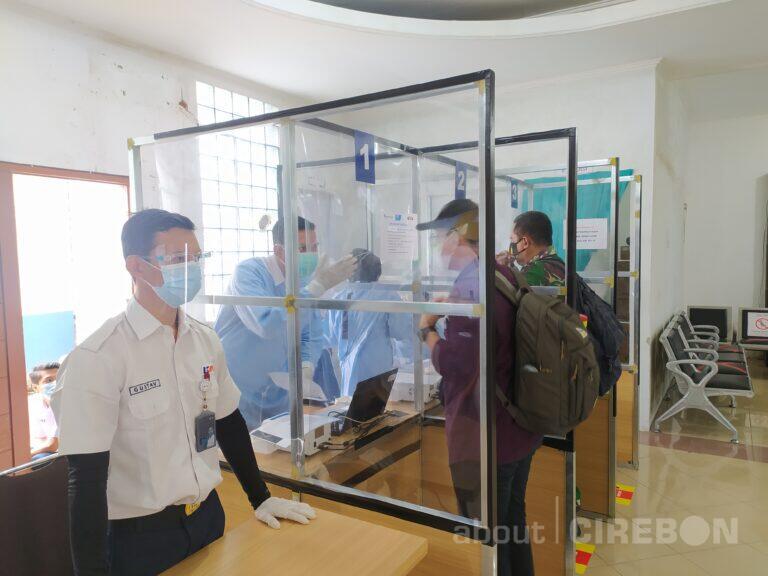 Karena Murah, Layanan GeNose di Stasiun Cirebon Diminati