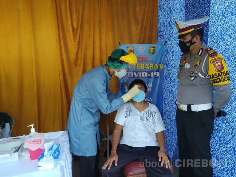 Selama 4 Hari, Sat Lantas Polres Cirebon Kota Gelar Rapid Test Antigen Gratis