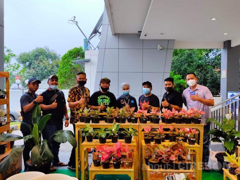 Gramedia Cipto Cirebon Gelar Pameran Tanaman Hias 