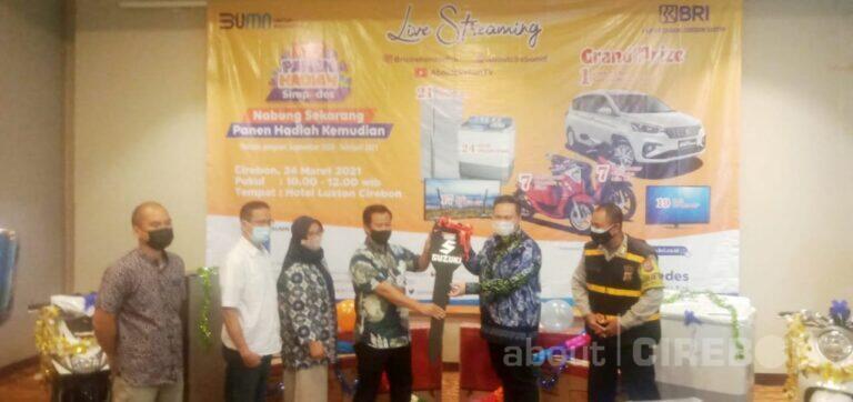 BRI Kantor Cabang Cirebon Kembali Gelar Panen Hadiah Simpedes