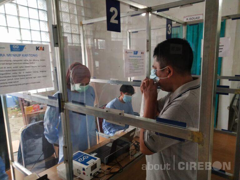 Sejak Diluncurkan Layanan GeNose C19, Daop 3 Cirebon Sudah Layani 3.496 Penumpang