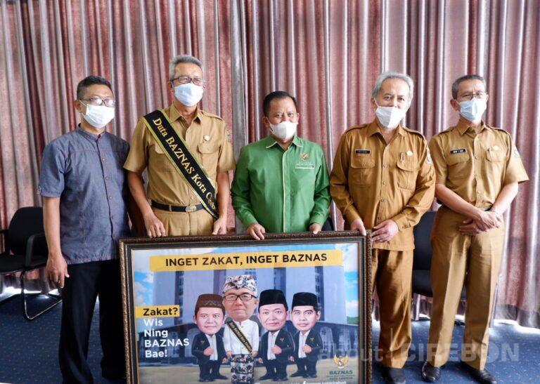 Sekda Kota Cirebon Dinobatkan Jadi Duta Baznas Kota Cirebon