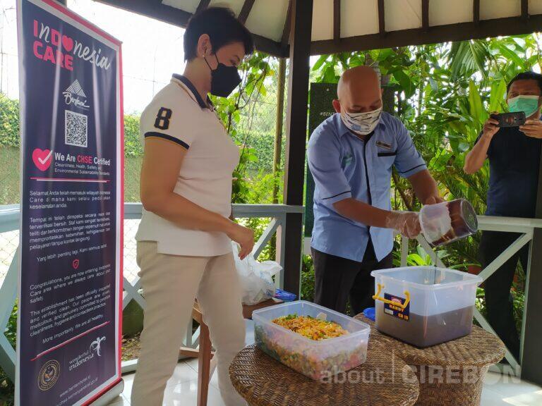 Bentani Hotel Cirebon Manfaatkan Limbah Sampah Organik Menjadi Eco Enzyme