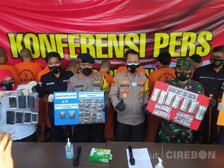 Selama Februari 2021, Sat Narkoba Polres Cirebon Kota Ungkap 13 Kasus