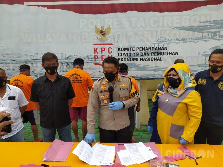 Operasi Jaran 2021, Polresta Cirebon Ungkap Kasus Pencurian Kendaraan Bermotor