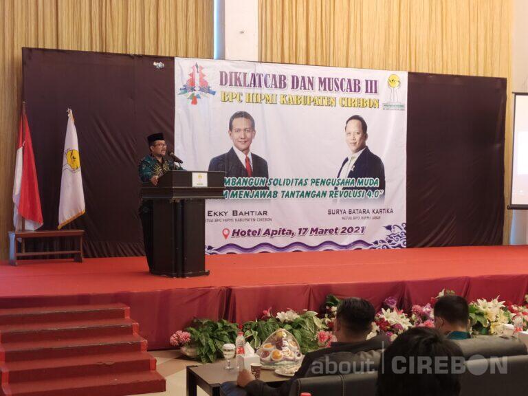 Bupati Minta HIPMI Ikut Berperan dalam Pembangunan Kabupaten Cirebon