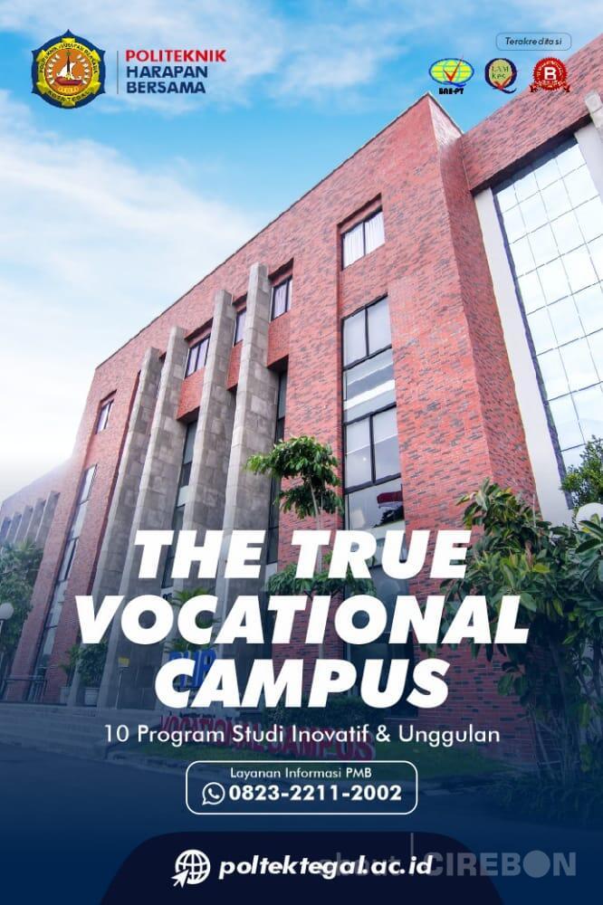 """Politeknik Harapan Bersama """"The True Vocational Campus"""" Terima Pendaftaran Mahasiswa Baru"""
