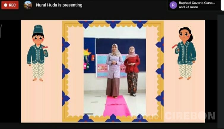 Ajarkan Nilai Cinta Tanah Air, Kinderfield School Cirebon Gelar Lomba Busana Adat Secara Online