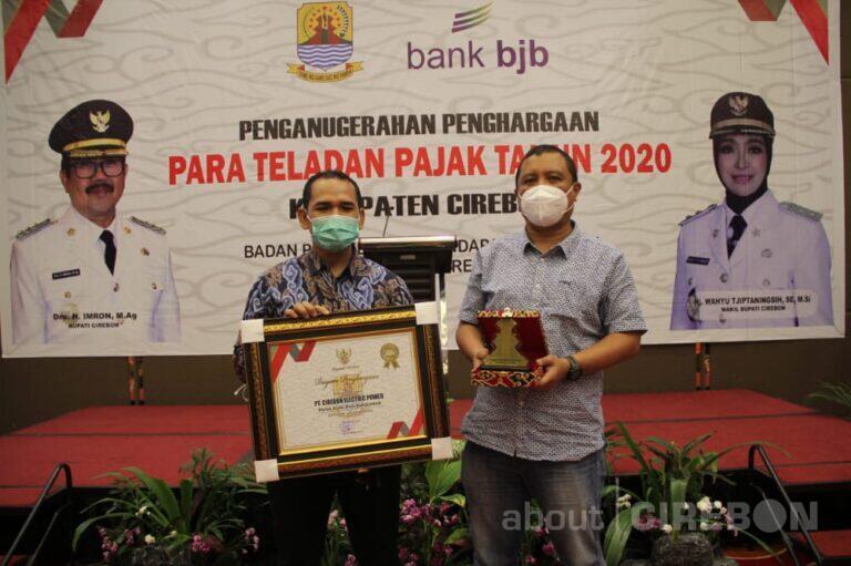 Cirebon Power Raih Penghargaan Teladan Pajak Tiga Tahun Berturut-turut