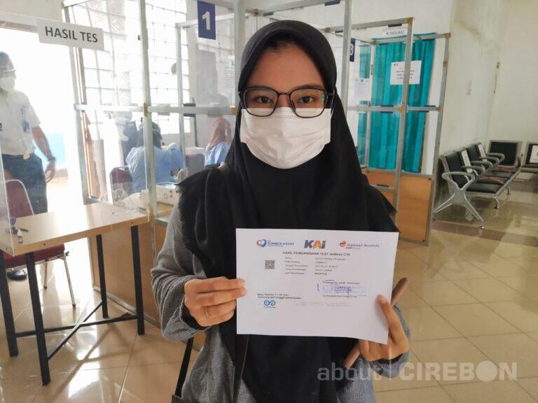 Daop 3 Cirebon Terapkan Aturan Masa Berlaku Surat Bebas Covid-19 Hanya 1×24 jam