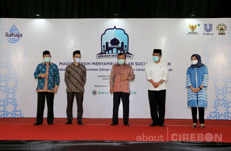 Melalui GMB 2021, Unilever Indonesia dan Dewan Masjid Indonesia  Jaga 30.000 Masjid Tetap Higienis dan Bersahaja