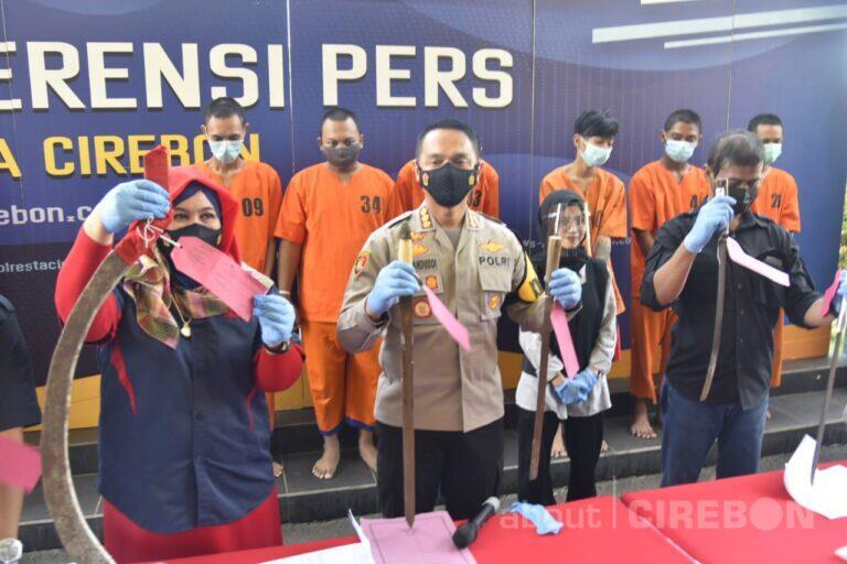 Hasil Operasi Pekat, Polresta Cirebon Ungkap Kasus Perjudian Hingga Prostitusi Online
