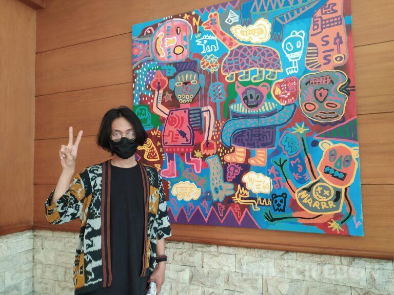 Refleksi Tahun 2020 Dalam Lukisan, Raffael Arlief Gelar Pameran Tunggal