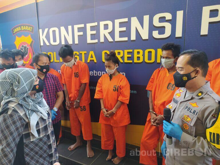 Satreskrim Polresta Cirebon Ringkus Pelaku Kejahatan Jalanan