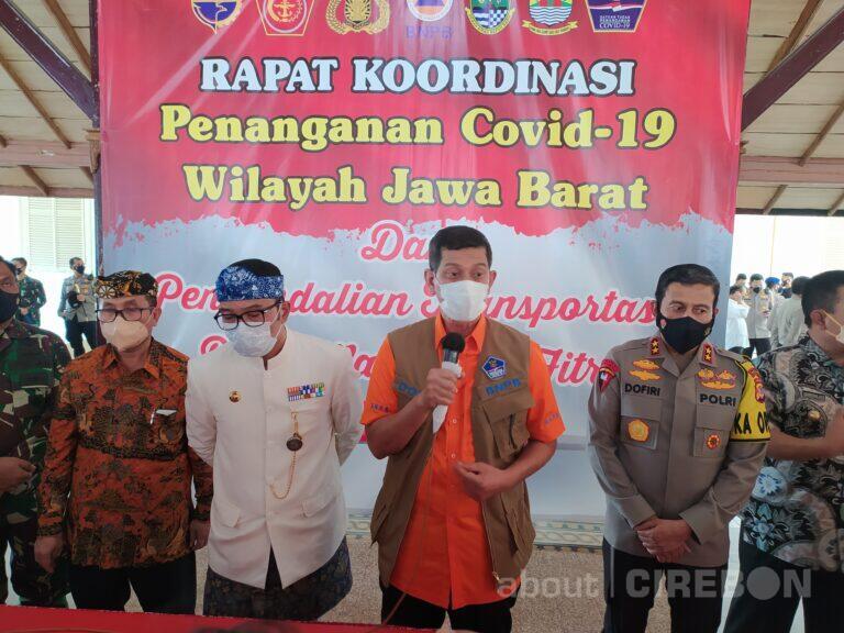 Rapat Koordinasi Larangan Mudik, Ini yang Disampaikan Kepala BNPB