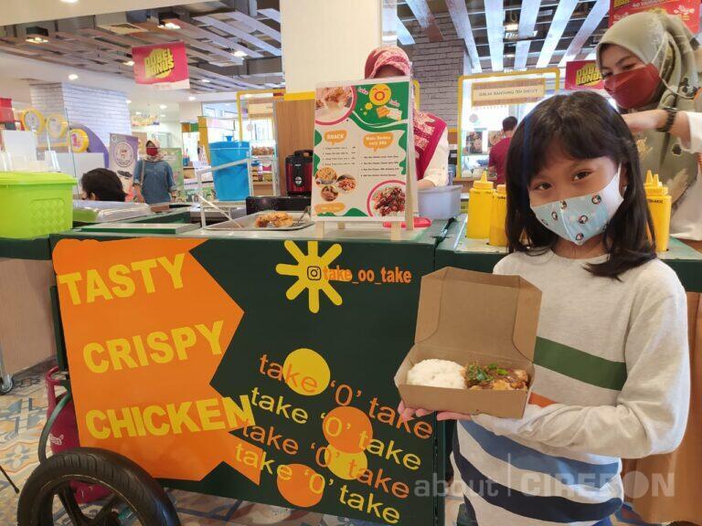 Take O Take, Kuliner Olahan Ayam Crispy dengan Sauce Kekinian dan Bumbu Tabur