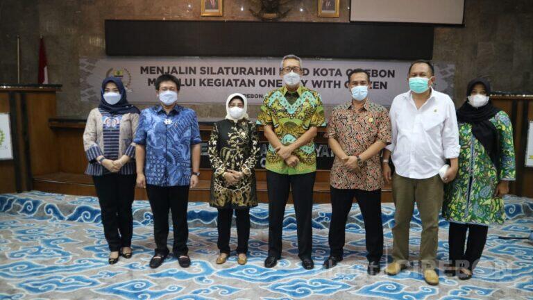 Silaturahmi Usai Lebaran Idulfitri, Ketua DPRD : Untuk Saling Memaafkan
