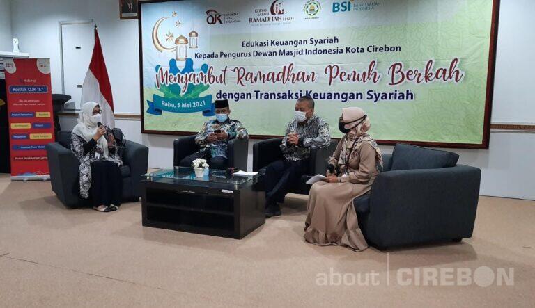 BSI Area Cirebon Jalin Kerjasama dengan DMI dalam Penyaluran ZISWAF Melalui Platform Digital