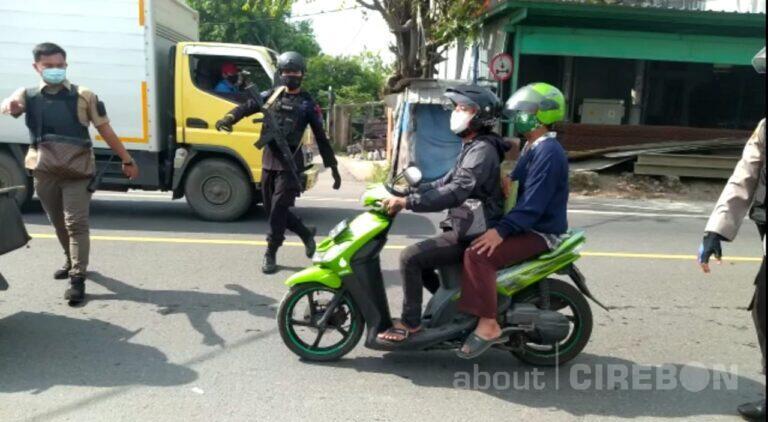 Selain Jalur Pantura, Polres Cirebon Kota Lakukan Penyekatan di Perbatasan