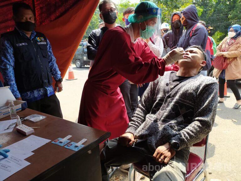 Penyekatan Arus Balik di Kota Cirebon, Hasil Pemeriksaan Antigen Dinyatakan Negatif