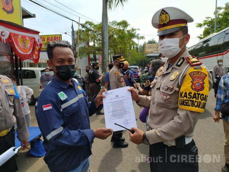 Pemudik Lewat Kota Cirebon Akan Dilakukan Pemeriksaan Rapid Tes Antigen