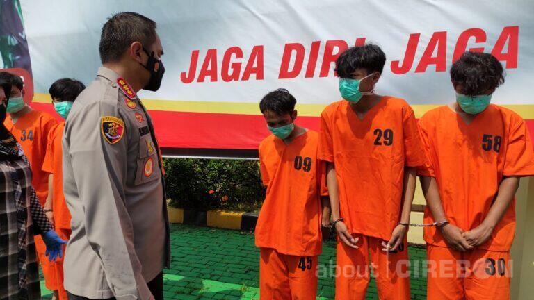 Satreskrim Polresta Cirebon Berhasil Ungkap Kasus Pencurian dan Pengeroyokan