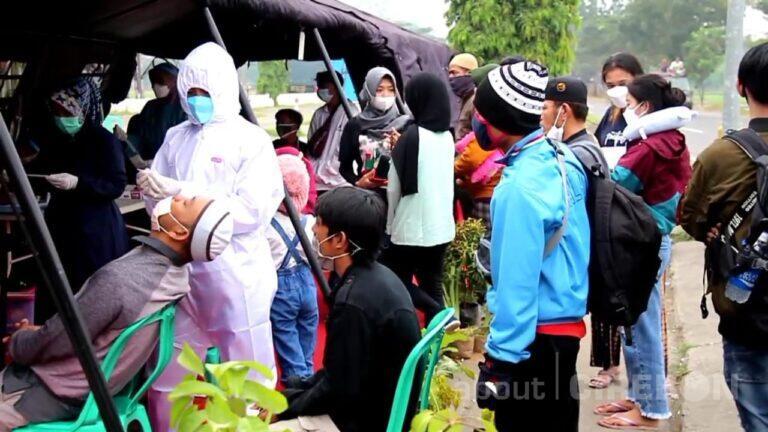Polresta Cirebon Tes Antigen 1.421 Pengendara Secara Acak Selama Operasi Ketupat dan KRYD