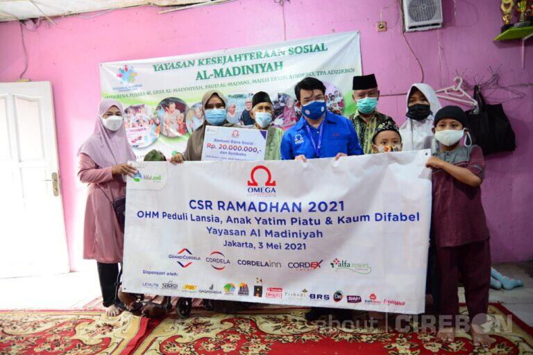 Omega Hotel Management Adakan CSR Ramadhan di Yayasan Al-Madiniyah 