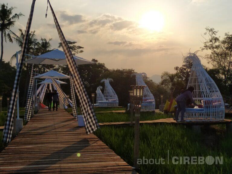 Kampung Sabin, Tawarkan Konsep Suasana Bali