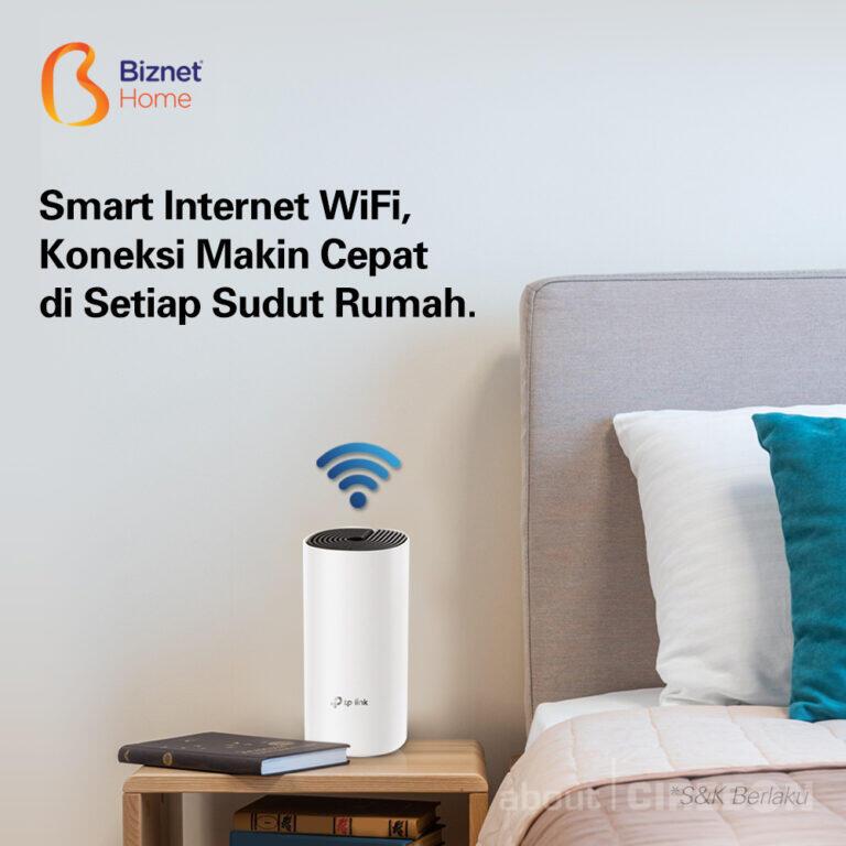 Biznet Hadirkan Koneksi WiFi Cepat dan Stabil di Setiap Sudut Rumah