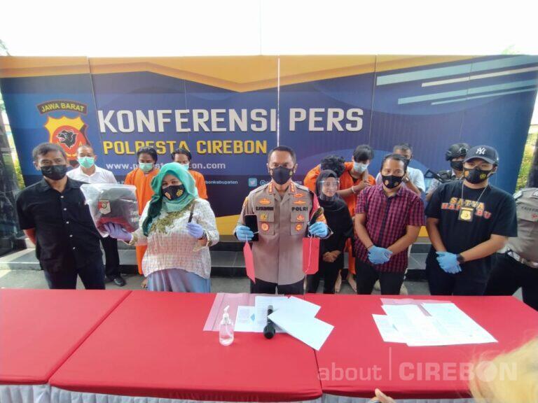 Polresta Cirebon Ringkus Empat Pelaku Curas yang Tak Segan Lukai Korbannya