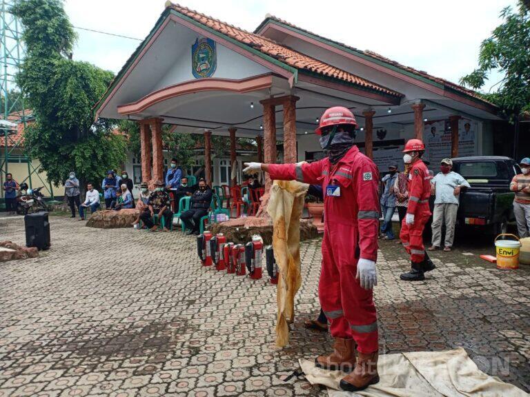 Sinergi Pertamina dan Warga Desa Balongan, Bangun Budaya Keselamatan Lewat Pembekalan Mitigasi Bencana