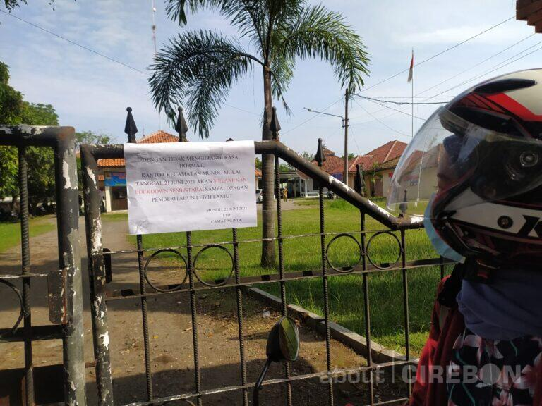 Satu Staf Positif Covid-19, Kantor Kecamatan Mundu Ditutup Sementara