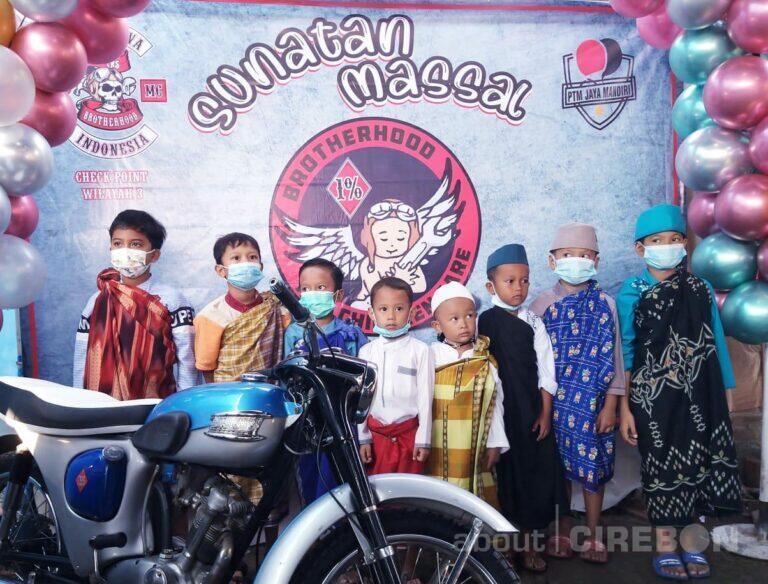 Club Motor Tua Bikers Brotherhood 1% MC Gelar Sunatan Massal Gratis
