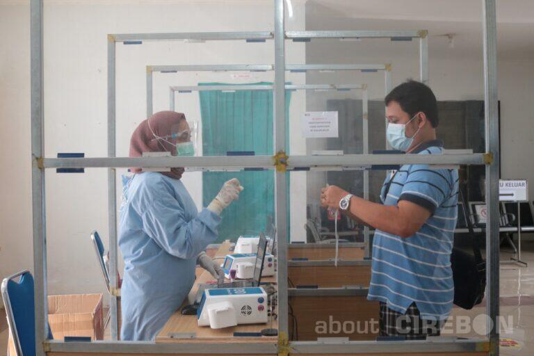Layanan Test GeNose di Wilayah Daop 3 Cirebon Diperpanjang Hingga Malam