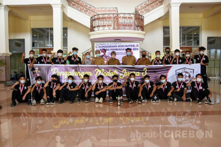Cirebon United FootballRaih Juara 3 Liga Topskor U17 dan Tim Terbaik Tahun 2020-2021
