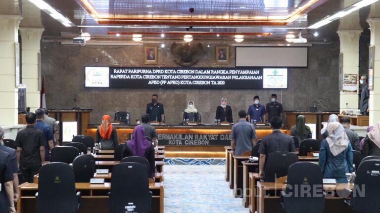 Wali Kota Cirebon Sampaikan Realisasi Pendapatan APBD 2020 sebesar Rp1,63 triliun