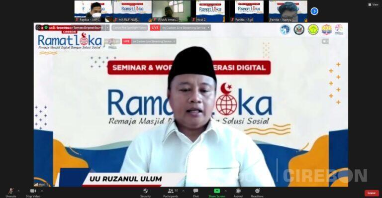 Remaja Masjid Harus Terdepan Dalam Menangkal Sampah Digital