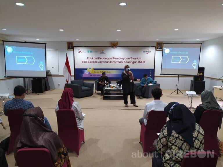 OJK Gandeng Kadin Kota Cirebon Gelar Edukasi Keuangan Syariah