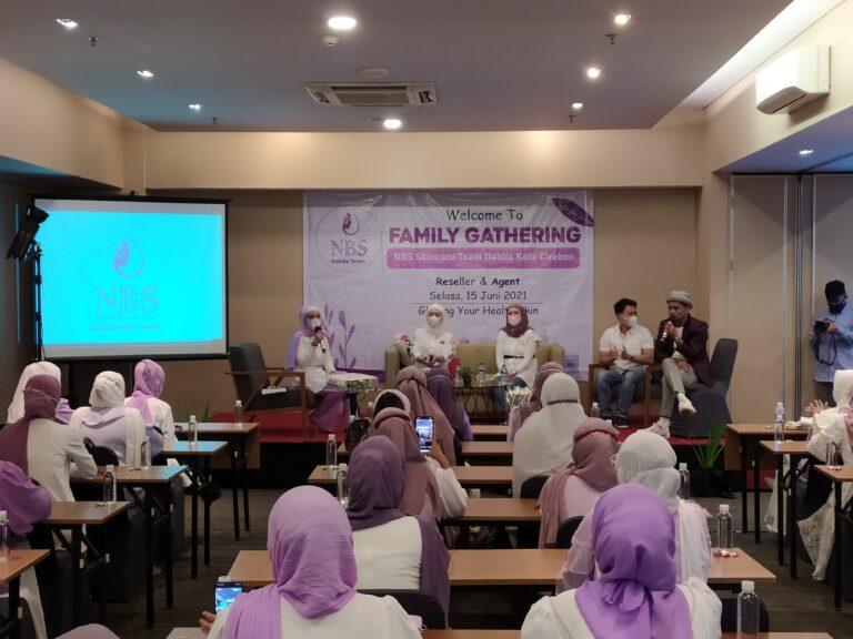 NBS Skin Care Cirebon Gelar Family Gathering