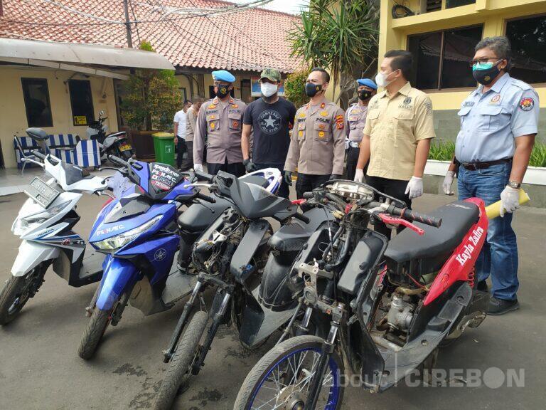 Janjian Lewat Medsos, Polres Cirebon Kota Tangkap Puluhan Tersangka Tawuran