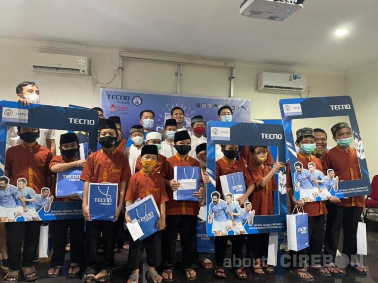 Tecno Mobile Gandeng Manchester City Supporters Club Indonesia dan Mizan Amanah Jalankan Kegiatan CSR Pertama di Indonesia