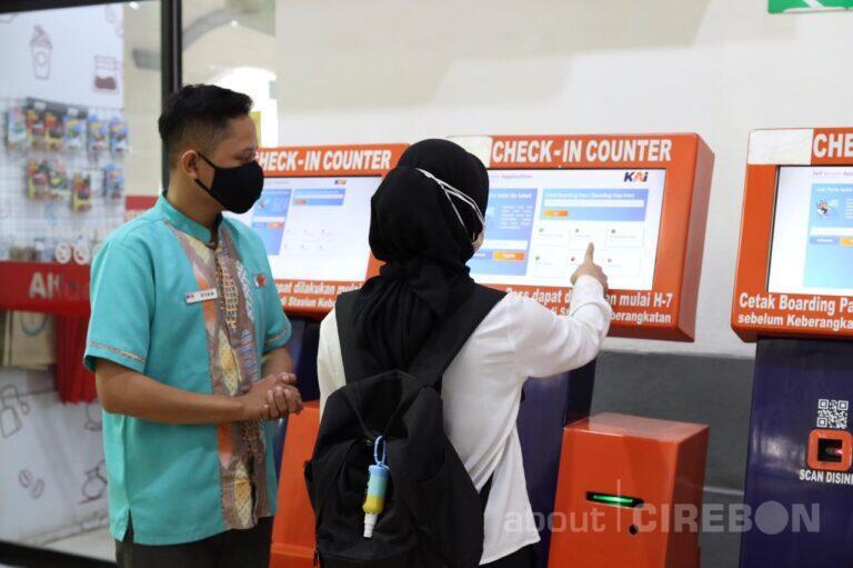 Daop 3 Cirebon Hadirkan Fasilitas Self  Service Application, Ini Fungsinya
