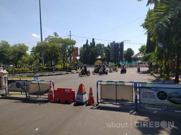 PPKM Level 4 Diperpanjang, Polres Cirebon Kota Tetap Lakukan Penyekatan