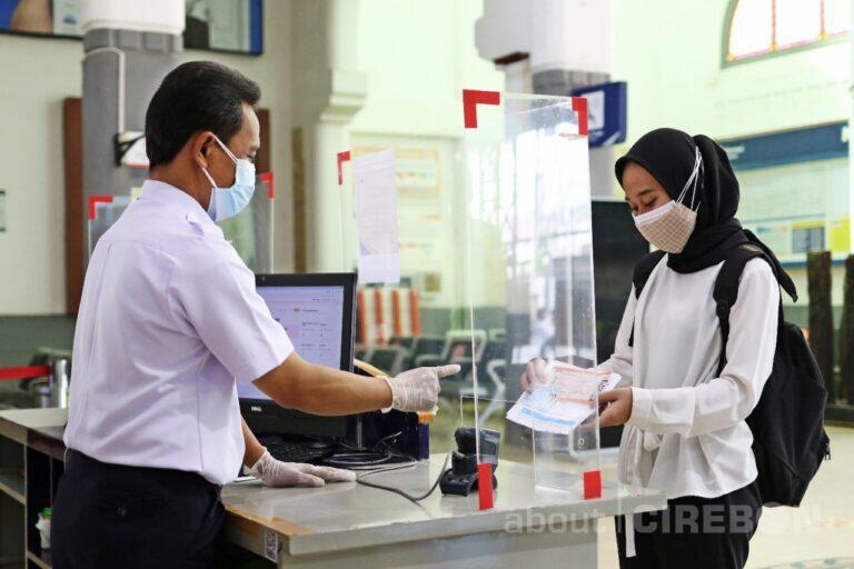 Selama PPKM Darurat Penumpang KA di Daop 3 Cirebon Terus Alami Penurunan