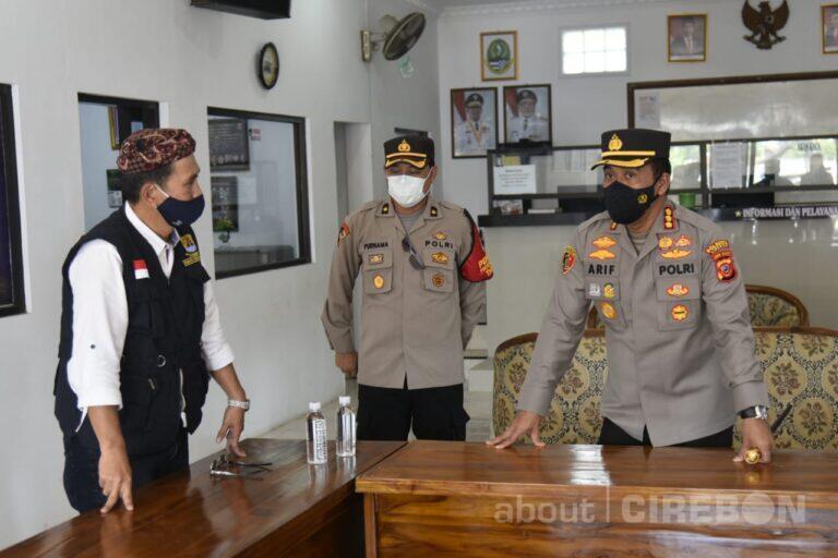 Kapolresta Cirebon Sarankan Satgas Covid-19 Kelurahan Gandeng Warga Setempat